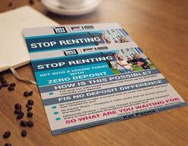 Nro 104 kilpailuun Create a flyer - No Deposit Homes käyttäjältä sujonyahoo007