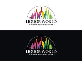 "#50 untuk Design Shop Front for ""Liquor World"" retail store oleh jones23logo"