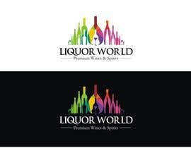"#53 untuk Design Shop Front for ""Liquor World"" retail store oleh jones23logo"