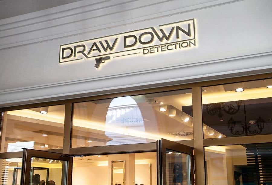 "Intrarea #185 pentru concursul ""Draw Down Detection - Logo"""
