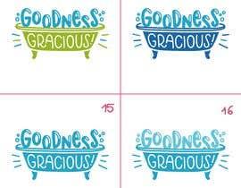 #115 za Goodness Gracious! We need a logo! od OpheliaStudio