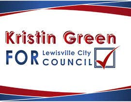 #30 for Campaign Sign Design by MVgdesign