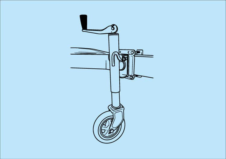 Contest Entry #23 for Line Drawing of Jockey Wheel