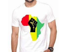 #10 za Black Power Fist with Afro od robiulislamrana
