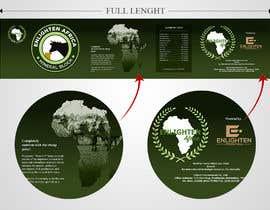 Nro 5 kilpailuun Redesign the following packaging using the two logos of Enlighten Africa and Enlighten International käyttäjältä marATTACKs