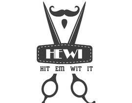#16 untuk I am looking to get a barber logo made. The attached logo has the name attached to it. Hit Em Wit It ((HEWI). I do not want the logo to have any type of fist with it. Just want it to have to do something more with being a barber. oleh aleehaaleeha