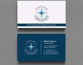 #106 za Need maritime business Card Design with colours of my logo od Creativeitzone