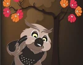 #12 za Funny Looking Owl With Big Eyes In A Dark Environment od ashvinirudrake13