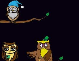 #31 za Funny Looking Owl With Big Eyes In A Dark Environment od ciderlord