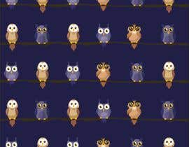 #25 za Funny Looking Owl With Big Eyes In A Dark Environment od CargandoAndo