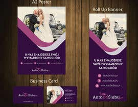 #8 for Project of Rollup Poster Banner Leaflet Business card AutoDoŚlubu.pl af petersamajay