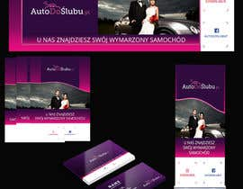 #4 for Project of Rollup Poster Banner Leaflet Business card AutoDoŚlubu.pl af wurfel