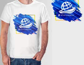 #99 for T-shirt design based on existing logo (#inthesameboat) by pgaak2
