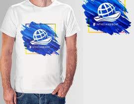 #99 za T-shirt design based on existing logo (#inthesameboat) od pgaak2