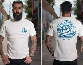 #118 for T-shirt design based on existing logo (#inthesameboat) by GDProfessional