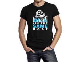 #119 za T-shirt design based on existing logo (#inthesameboat) od Jbroad