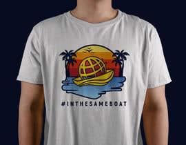 #151 for T-shirt design based on existing logo (#inthesameboat) by AfdanZulhi