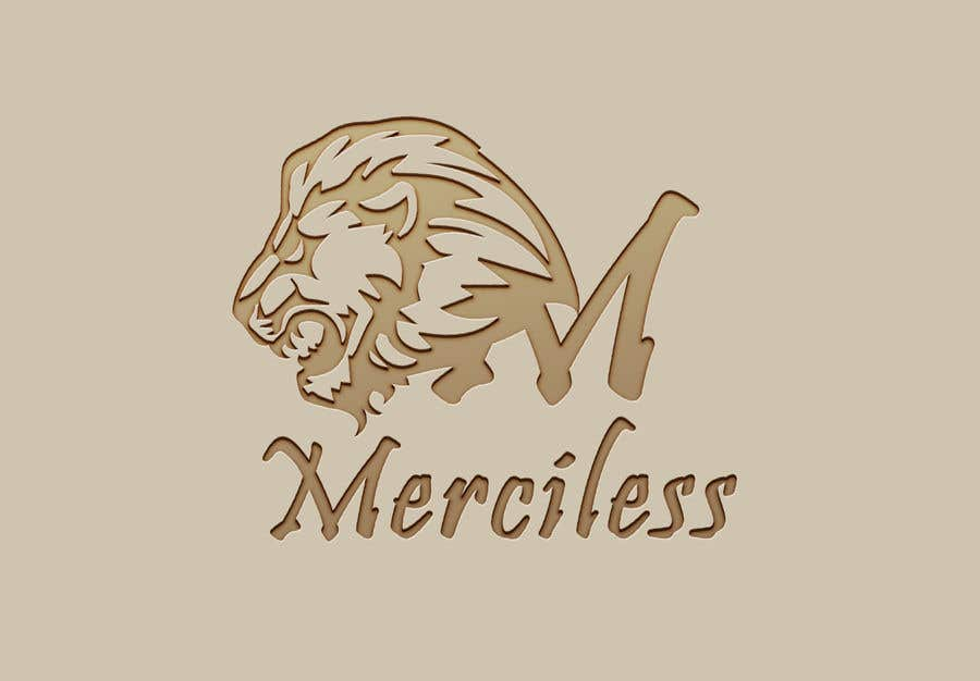 """Intrarea #9 pentru concursul """"new logo design! It must have the word """"Merciless"""", and the word merciless has to be red. I have attached the current logo for the company Merciless Sounds."""""""