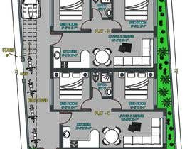 #22 za Architectural design for an area of 72x33 feet od ArMuhammad