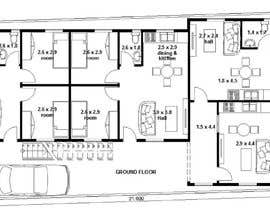 #9 za Architectural design for an area of 72x33 feet od TMKennedy