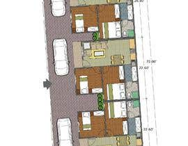 #15 za Architectural design for an area of 72x33 feet od Feksy88