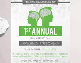#26 para design beautiful digital flyer - Mental Health Gala por HashamRafiq2