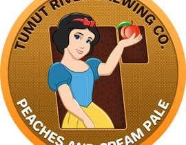 #202 for Logo for our new beer Peaches & Cream Pale av Dineshdsnr