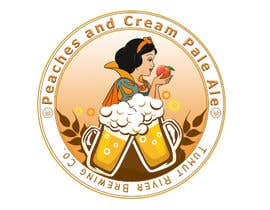 #198 for Logo for our new beer Peaches & Cream Pale av AyyoubMAZOUZ