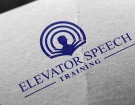 """#106 untuk logo for """"elevator speech training"""" oleh Samayera0"""