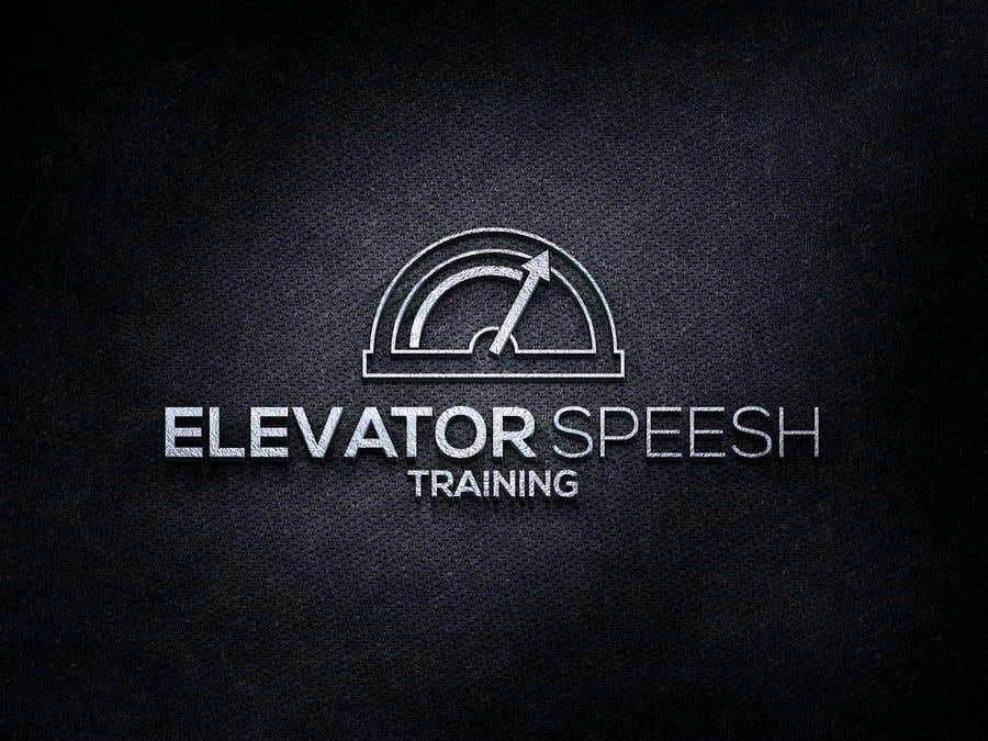 """Inscrição nº 138 do Concurso para logo for """"elevator speech training"""""""