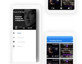 #13 for UI for a Quote App av gopi00712122