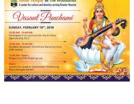 #34 for Vasant Panchami poster av savitamane212