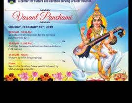 #35 for Vasant Panchami poster av savitamane212