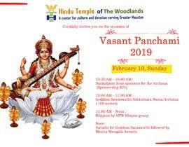 #27 for Vasant Panchami poster av DivyaChaudhary19