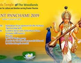 #8 for Vasant Panchami poster av shailsonsl