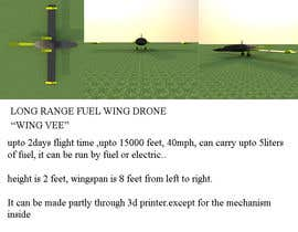 #18 pёr Research: Long Range Fixed Wing Fuel Drones nga sonnybautista143