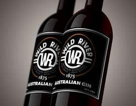#13 pёr Re design my Gin bottle fron label nga DiponkarDas