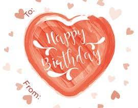 #25 untuk Make me a gift label: Heart 01 oleh ydderf27
