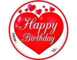 #40 pёr Make me a gift label: Heart 01 nga Niroshnet