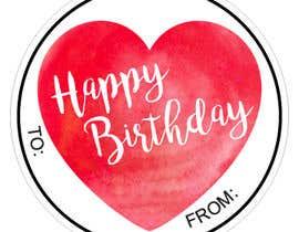 #5 pёr Make me a gift label: Heart 01 nga Naseem065