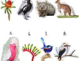 #18 untuk Art Required of Australian Plants & Animals - 8 Small artworks in total. Hand drawn, digital or watercolor. oleh catherinebennion
