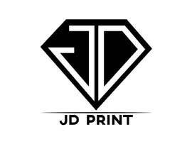 #2 pёr Needing a logo designed with the wording: JD Print. Preferably with the JD in the shape of a diamond nga fiq5a69f88015841