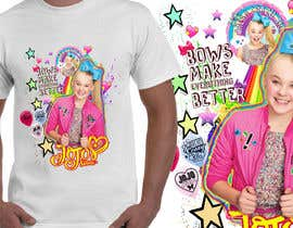 #25 pёr New Tshirt Design for Jojo Siwa outlet nga JunrayFreelancer