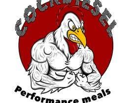 #13 pёr Design Muscular Chicken Logo nga Justifiedgraphx