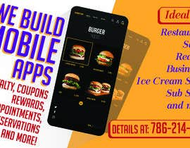 """#5 za 1/2 Page Ad for Building Mobile Apps 8"""" wide X 4.9"""" tall od syedjaved25"""