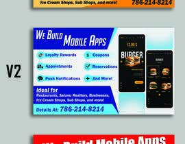 """#7 za 1/2 Page Ad for Building Mobile Apps 8"""" wide X 4.9"""" tall od syedjaved25"""