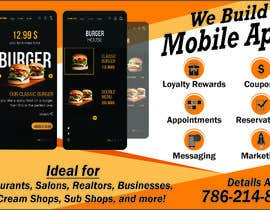 """#10 za 1/2 Page Ad for Building Mobile Apps 8"""" wide X 4.9"""" tall od syedjaved25"""