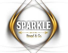 #64 pёr I need a text logo that can be used for social media & website. The name of the brand is Sparkle Brand & Co. I would love for the design to be classy but edgy with a pop of shiny metallic. nga SameGod