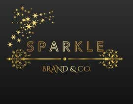 #65 pёr I need a text logo that can be used for social media & website. The name of the brand is Sparkle Brand & Co. I would love for the design to be classy but edgy with a pop of shiny metallic. nga SameGod