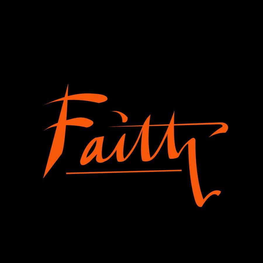 Proposition n°29 du concours Digitize and improve a hand drawn text logo - Faith